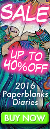 SALE - up to 40% OFF - 2016 Paperblanks Diaries - BUY NOW