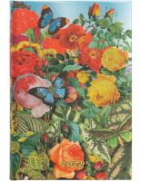 Paperblanks Butterfly Garden Mini   Day-at-a-Time 2022 Diary (BO1)