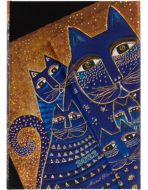 Paperblanks Mediterranean Cats Mini | Week-at-a-Time 2022 Diary VSO (PRE-ORDER)