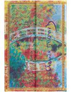 Paperblanks Monet (Bridge) Mini | Week-at-a-Time 2022 Diary VSO (PRE-ORDER)