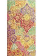 Paperblanks Bavarian Wild Flower Slim   Week-at-a-Time 2022 Diary HOR (NEW) (RARE)