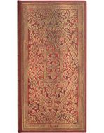 Paperblanks Golden Pathway Slim   Week-at-a-Time 2022 Diary HOR (NEW)