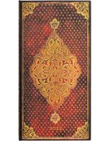 Paperblanks Golden Trefoil Slim | Week-at-a-Time 2022 Diary HOR