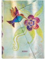 Paperblanks Hummingbird Midi   Day-at-a-Time 2022 Diary (RARE) (PRE-ORDER)