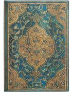 Paperblanks Turquoise Chronicles Midi | Week-at-a-Time 2022 Diary HOR (PRE-ORDER)