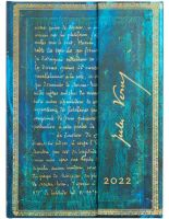 Paperblanks Verne, Twenty Thousand Leagues Midi | Week-at-a-Time 2022 Diary VER (NEW) (PRE-ORDER)