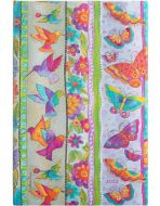 Paperblanks Hummingbirds & Flutterbyes Maxi | Week-at-a-Time 2022 Diary HOR (NEW)
