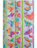 Paperblanks Hummingbirds & Flutterbyes Maxi   Week-at-a-Time 2022 Diary HOR (NEW) (PRE-ORDER)