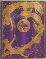 Paperblanks Violet Fairy Ultra | Week-at-a-Time 2022 Diary HOR (NEW) (PRE-ORDER)