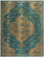 Paperblanks Turquoise Chronicles Ultra | Week-at-a-Time 2022 Diary VER (PRE-ORDER)