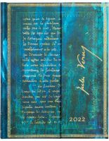 Paperblanks Verne, Twenty Thousand Leagues Ultra | Week-at-a-Time 2022 Diary VER (NEW) (PRE-ORDER)