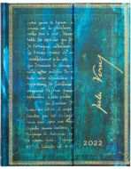 Paperblanks Verne, Twenty Thousand Leagues Ultra   Week-at-a-Time 2022 Diary VSO (NEW)