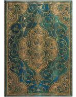 Paperblanks Turquoise Chronicles Grande | Week-at-a-Time 2022 Diary VER (PRE-ORDER)