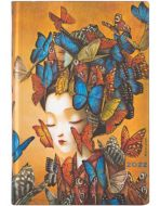 Paperblanks Madame Butterfly Flexi Mini | Week-at-a-Time 2022 Diary HOR (PRE-ORDER)