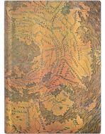Paperblanks Hunt-Lenox Globe Flexi Midi   Day-at-a-Time 2022 Diary (NEW) (RARE) (PRE-ORDER)