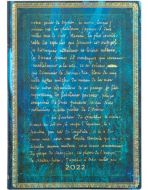 Paperblanks Verne, Twenty Thousand Leagues Flexi Midi | Week-at-a-Time 2022 Diary HOR (NEW)