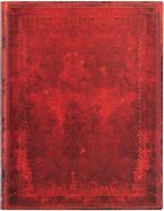 Paperblanks Red Moroccan Bold Flexi Ultra | Week-at-a-Time 2022 Diary BUSINESS PLANNER (NEW)