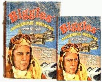 Book Box - Biggles: Dangerous Missions Small