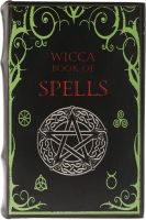 Book Box - Wicca Book of Spells Small (NEW)