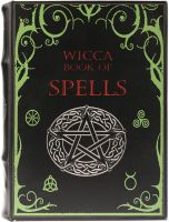 Book Box - Wicca Book of Spells Large