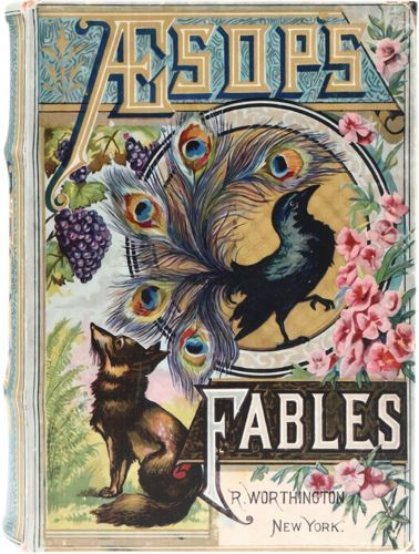 Book Box - Aesops Fables Large (NEW)