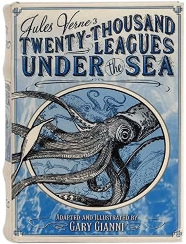 Book Box - Twenty Thousand Leagues Under the Sea Large (NEW)