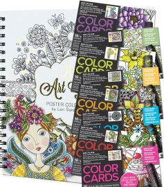 Colouring Book/Cards