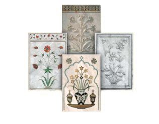 Taj Mahal Flowers
