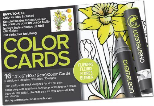 Chameleon Colour Cards - Flowers
