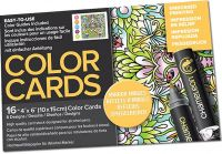 Chameleon Colour Cards - Mirror Images (embossed)