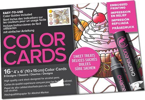 Chameleon Colour Cards - Sweet Treats (embossed)
