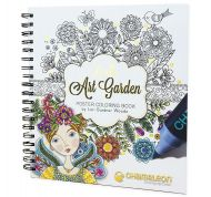 Chameleon Coloring Book - Loris Art Garden