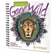 Chameleon Coloring Book - Mandalas Gone Wild (NEW)