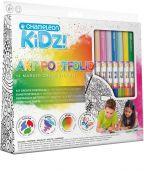 Chameleon Kidz! Portfolio 14 Colour Creativity Kit