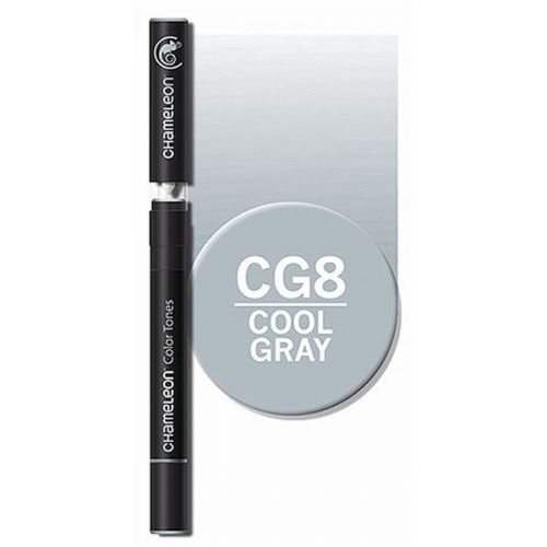 Chameleon Single Pen - Cool Grey CG8