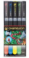 Chameleon 5-Pen Primary Tones Set