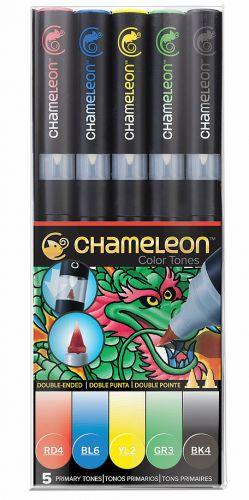 Chameleon 5-Pen Primary Tones Set.