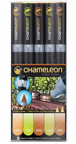Chameleon 5-Pen Earth Tones Set.