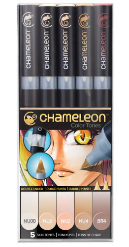 Chameleon 5-Pen Skin Tones Set