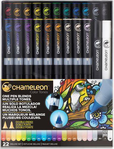 Chameleon 22-Pen Deluxe Set.