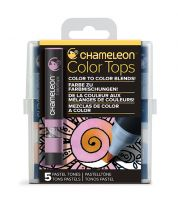 Chameleon 5 Colour Tops Pastel Tones Set (NEW)