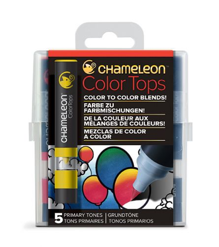 Chameleon 5 Colour Tops Primary Tones Set (RARE).