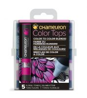 Chameleon 5 Colour Tops Floral Tones Set (NEW)