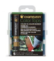 Chameleon 5 Colour Tops Nature Tones Set (NEW)