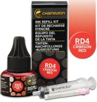 Chameleon Ink Refill 25ml - Crimson Red RD4