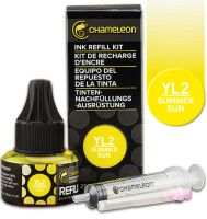 Chameleon Ink Refill 25ml - Summer Sun YL2