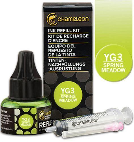 Chameleon Ink Refill 25ml - Spring Meadow YG3