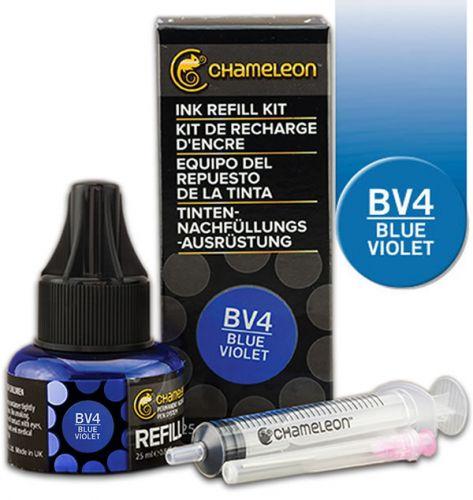 Chameleon Ink Refill 25ml - Blue Violet BV4