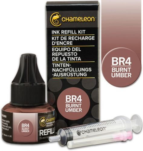 Chameleon Ink Refill 25ml - Burnt Umber BR4 (PRE-ORDER)