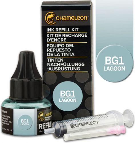 Chameleon Ink Refill 25ml - Lagoon BG1 (PRE-ORDER)